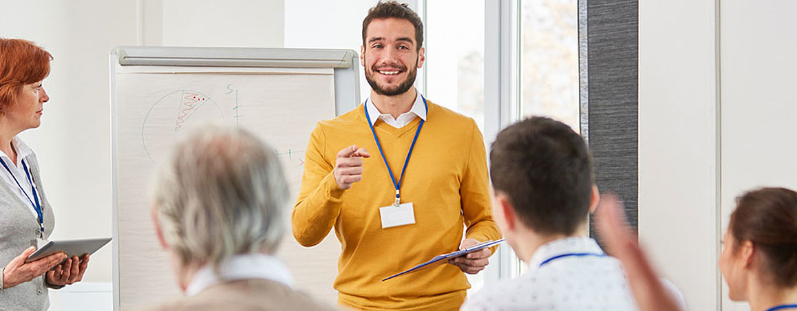 Seminar Training Courses Workshop Mass Finishing Blasting Technology Lecturers Training Management certified Rösler specialized trainer Rösler-Academy Seminarprogram special seminars on process media, machine types or industry solutions